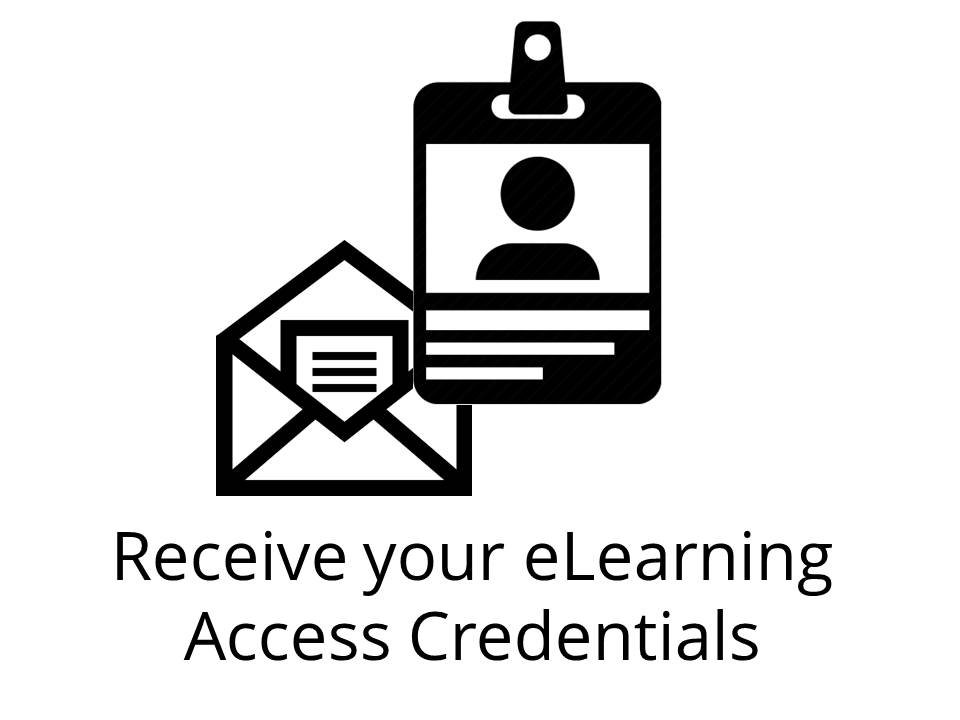 Receive your Credentials